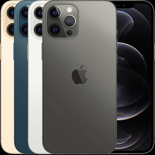Aktionsgerät iPhone 12 Pro Max in verschiedenen Ansichten
