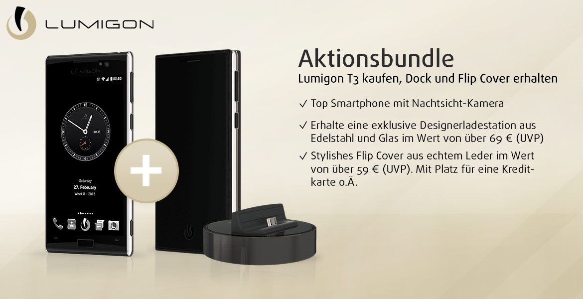 aktion lumigon t3 ein hochwertiges smartphone aus d nemark. Black Bedroom Furniture Sets. Home Design Ideas