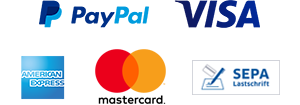 Collage mit Logos der Zahlungsanbieter