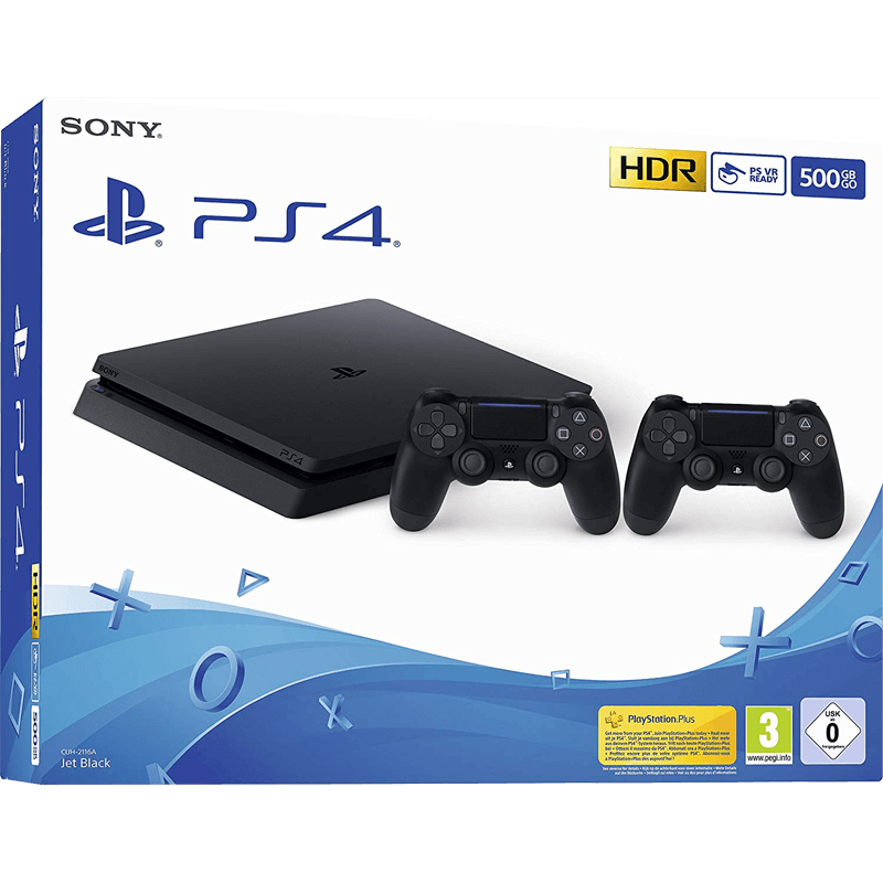 Sony Playstation 4 schwarz 500 GB