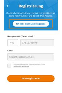 Screenshot Schutzklick-Versicherung