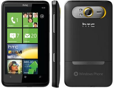 HTC HD7 mit Vertrag kaufen → Telekom, Vodafone, o2 vergleichen