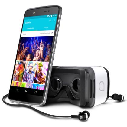 Alcatel Idol 4 Plus Dual dark grey inkl. VR-Brille