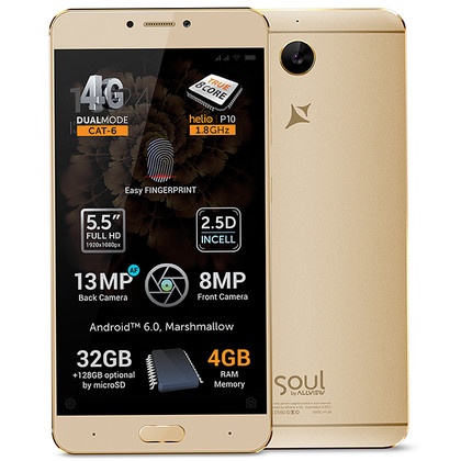 Allview X3 Soul Plus gold