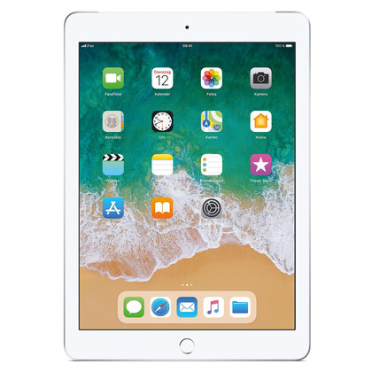 Apple iPad 2018 LTE silber