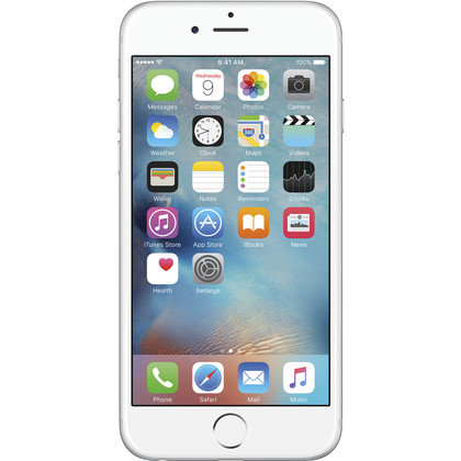 iphone 6 16 gb silber mit vertrag telekom vodafone o2 base congstar otelo blau. Black Bedroom Furniture Sets. Home Design Ideas
