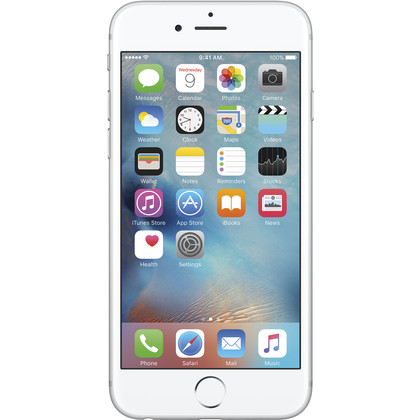 iPhone 6S silber