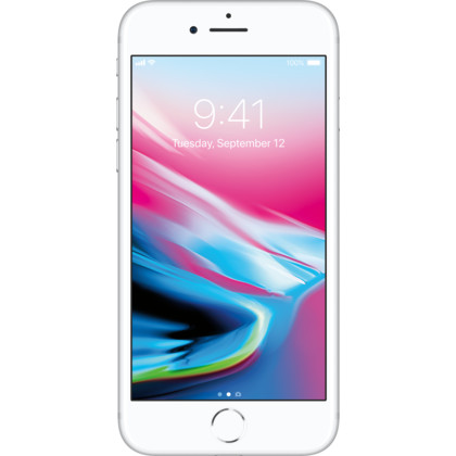 iPhone 8 silber