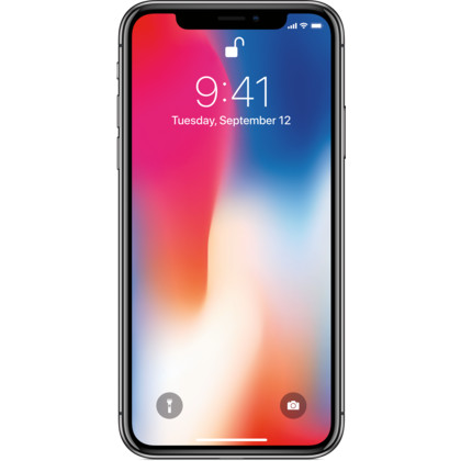 iPhone X space grau