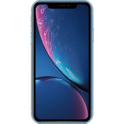 iPhone XR blau