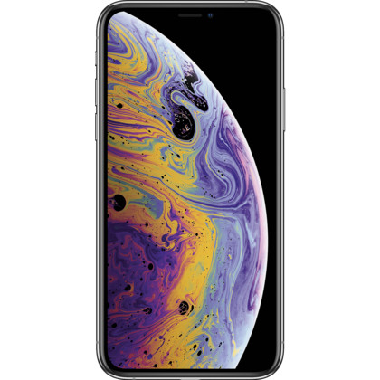 iPhone XS silber