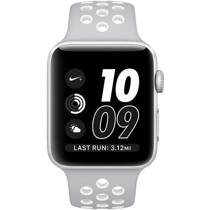 apple watch nike 38 mm series 2 mit vertrag telekom vodafone o2 congstar otelo blau. Black Bedroom Furniture Sets. Home Design Ideas