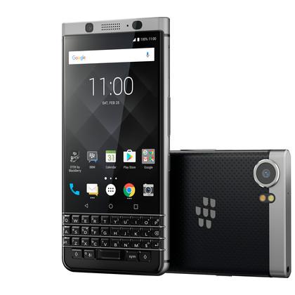 BlackBerry KEYone silber mit 3 GB RAM