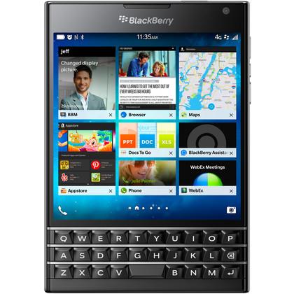 BlackBerry Passport schwarz (QWERTZ-Tastatur)