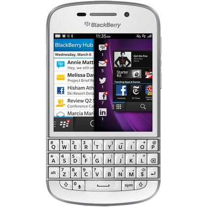BlackBerry Q10 weiss (QWERTZ-Tastatur)