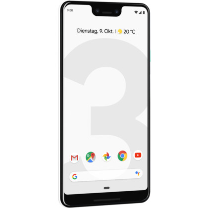 Google Pixel 3 XL clearly white