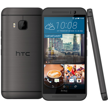 HTC One M9 Prime Camera Edition gunmetal gray