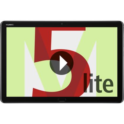 Huawei MediaPad M5 Lite 10.1 LTE grau