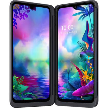 LG G8X ThinQ Dual Screen aurora black