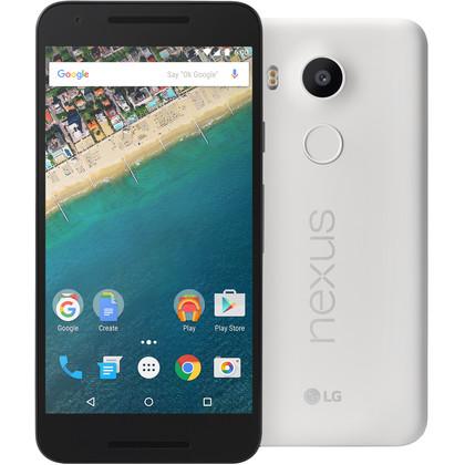 LG Google Nexus 5X weiss/quarz