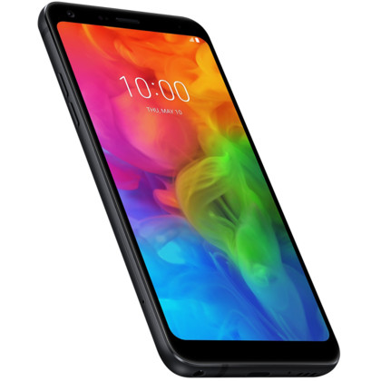 LG Q7 aurora black