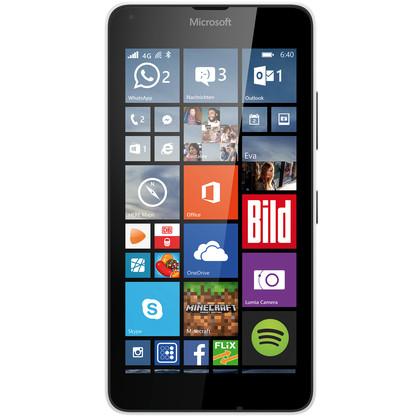microsoft lumia 640 dual sim mit vertrag telekom vodafone o2 congstar otelo blau. Black Bedroom Furniture Sets. Home Design Ideas