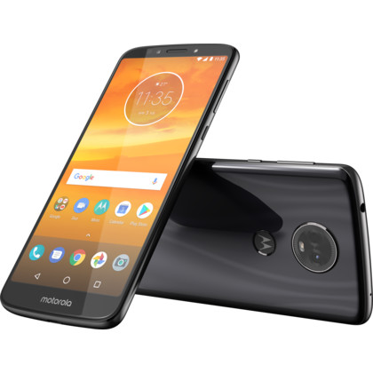 Motorola Moto E5 Plus Dual-SIM flash gray