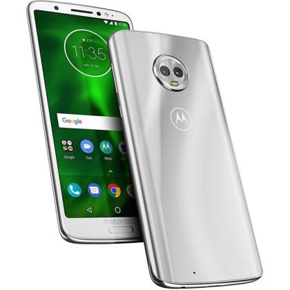Motorola Moto G6 silver mit 3 GB RAM