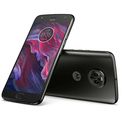 Motorola Moto X4 super black mit 4 GB RAM