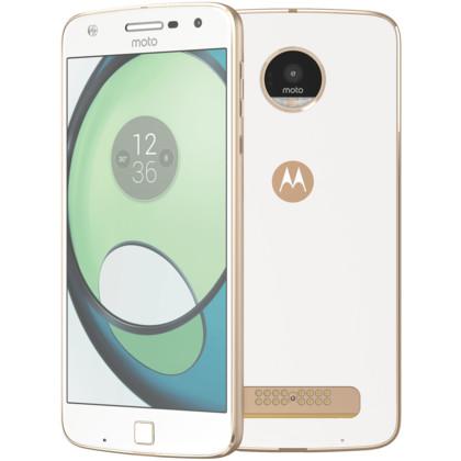 Motorola Moto Z Play by Lenovo white fine gold
