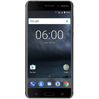 Nokia 6 Dual-SIM schwarz
