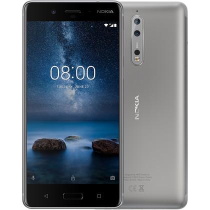 Nokia 8 steel mit 4 GB RAM