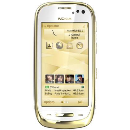 Nokia Oro gold white