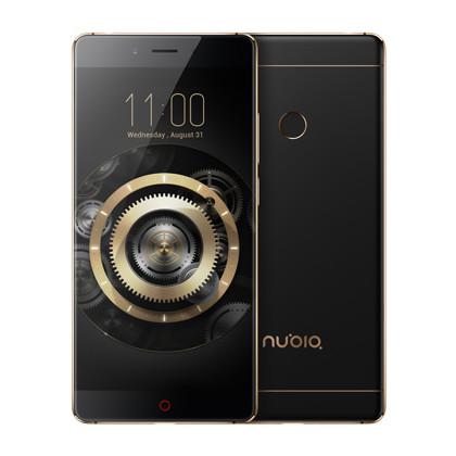 Nubia Z11 schwarz gold mit 6 GB RAM