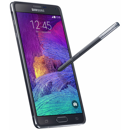 samsung galaxy note 4 32 gb schwarz mit vertrag telekom. Black Bedroom Furniture Sets. Home Design Ideas