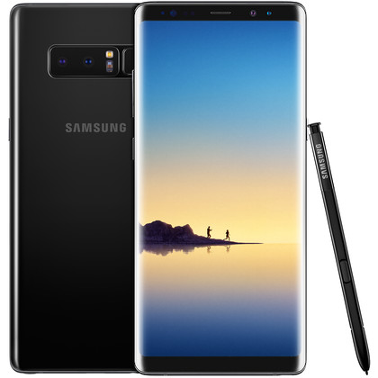 Samsung Galaxy Note 8 Duos midnight black