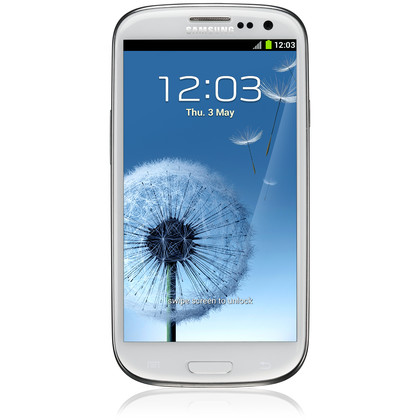 Samsung Galaxy S3 ceramic white