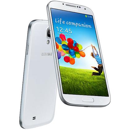 Samsung Galaxy S4 LTE white frost