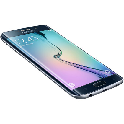 samsung galaxy s6 edge 32 gb black sapphire mit vertrag. Black Bedroom Furniture Sets. Home Design Ideas