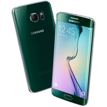 Samsung Galaxy S6 edge green emerald