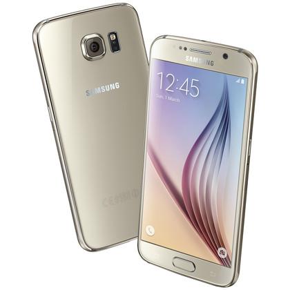 Samsung Galaxy S6 gold platinum