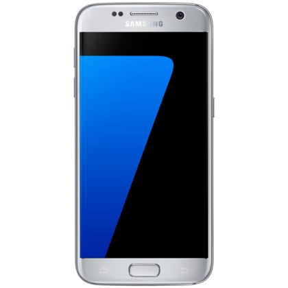 samsung galaxy s7 32 gb silver mit vertrag telekom vodafone o2 base congstar otelo blau. Black Bedroom Furniture Sets. Home Design Ideas