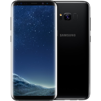 samsung galaxy s8 plus 64 gb midnight black mit vertrag. Black Bedroom Furniture Sets. Home Design Ideas