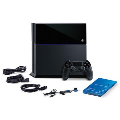 Sony Playstation 4 schwarz - 500 GB Festplatte