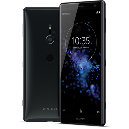 Sony Xperia XZ2 liquid black