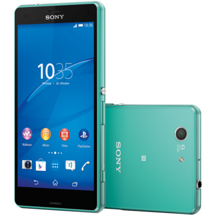 sony xperia z3 compact 16 gb meergr n mit vertrag telekom. Black Bedroom Furniture Sets. Home Design Ideas