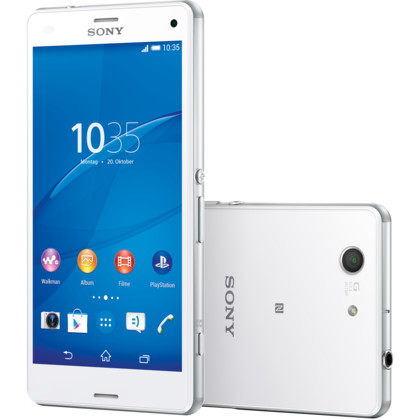 sony xperia z3 compact 16 gb weiss mit vertrag telekom. Black Bedroom Furniture Sets. Home Design Ideas