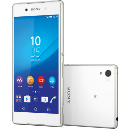 sony xperia z3 32 gb weiss mit vertrag telekom vodafone. Black Bedroom Furniture Sets. Home Design Ideas
