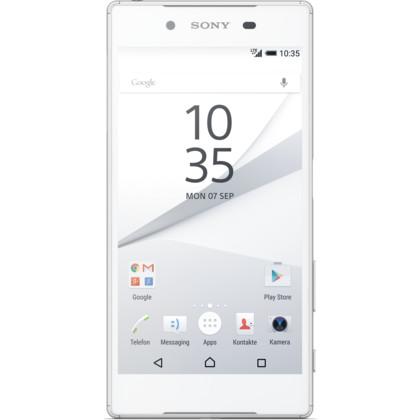 Sony Xperia Z5 silber-weiss