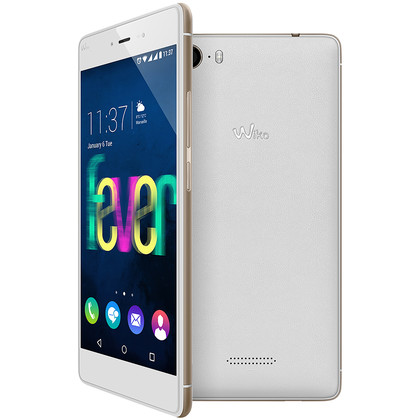 Wiko Fever 4G weiss champagner